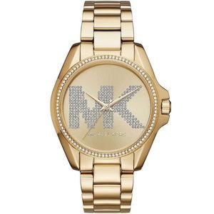 Gold-tone Bradshaw Mk6555 Watch